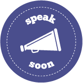 Speak soon logo