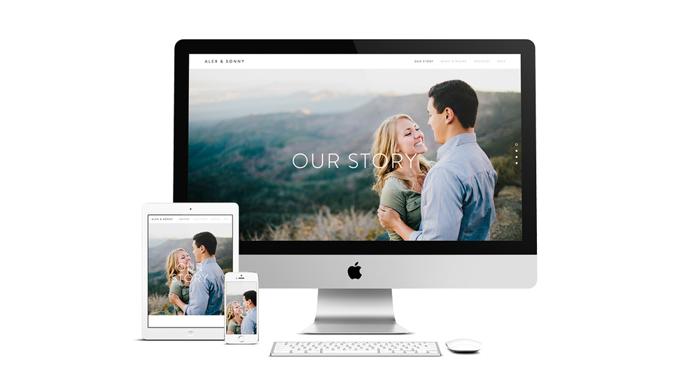 NemoNet weddings mobile responsive website