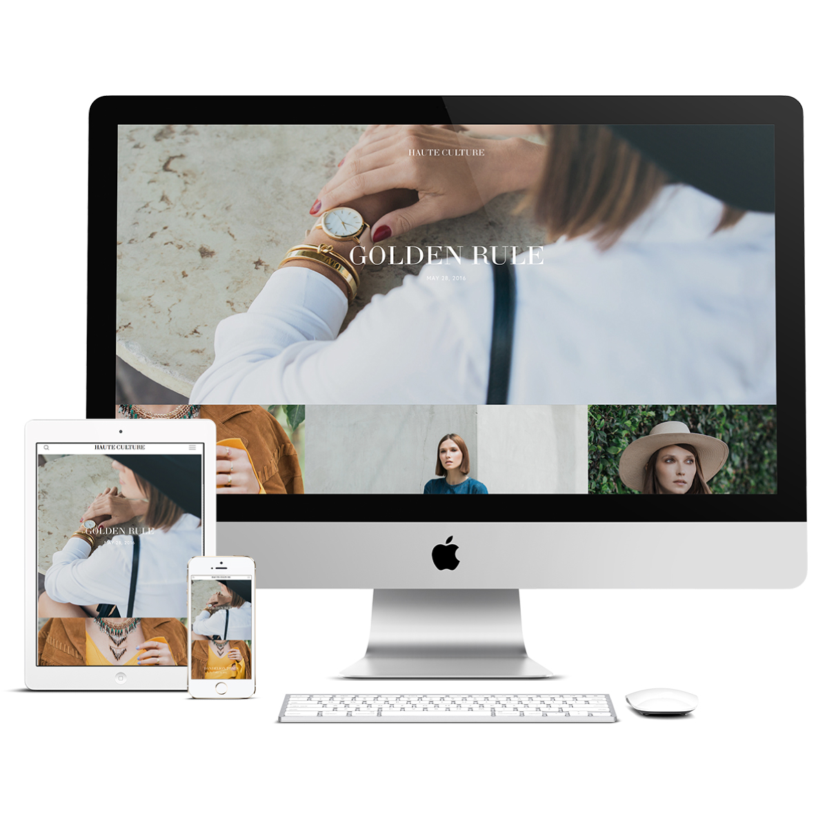 Fulton is for craftsmen seeking a competitive edge for their eCommerce website. With large galleries and striking headlines, Fulton is all about craftsmanship and contrast.