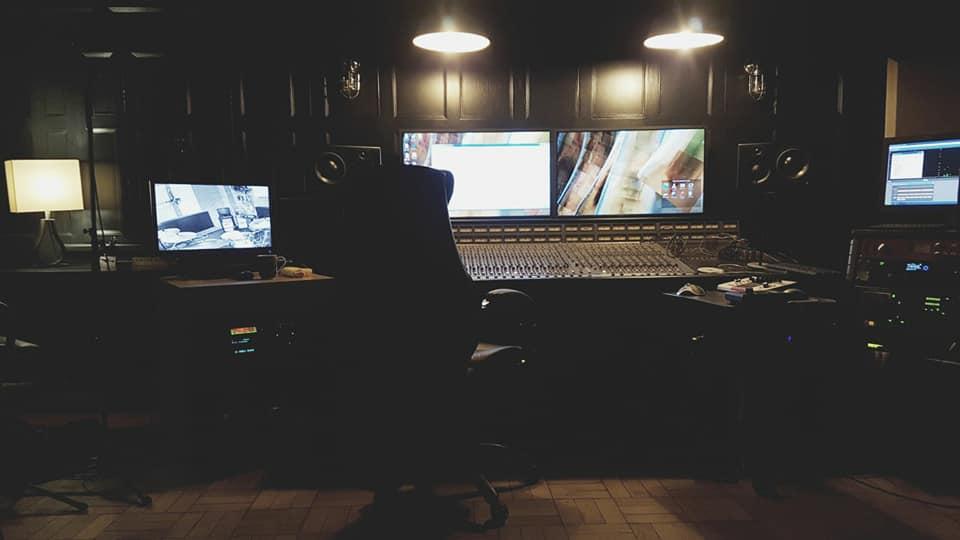 Crescent Records Studio Control Room