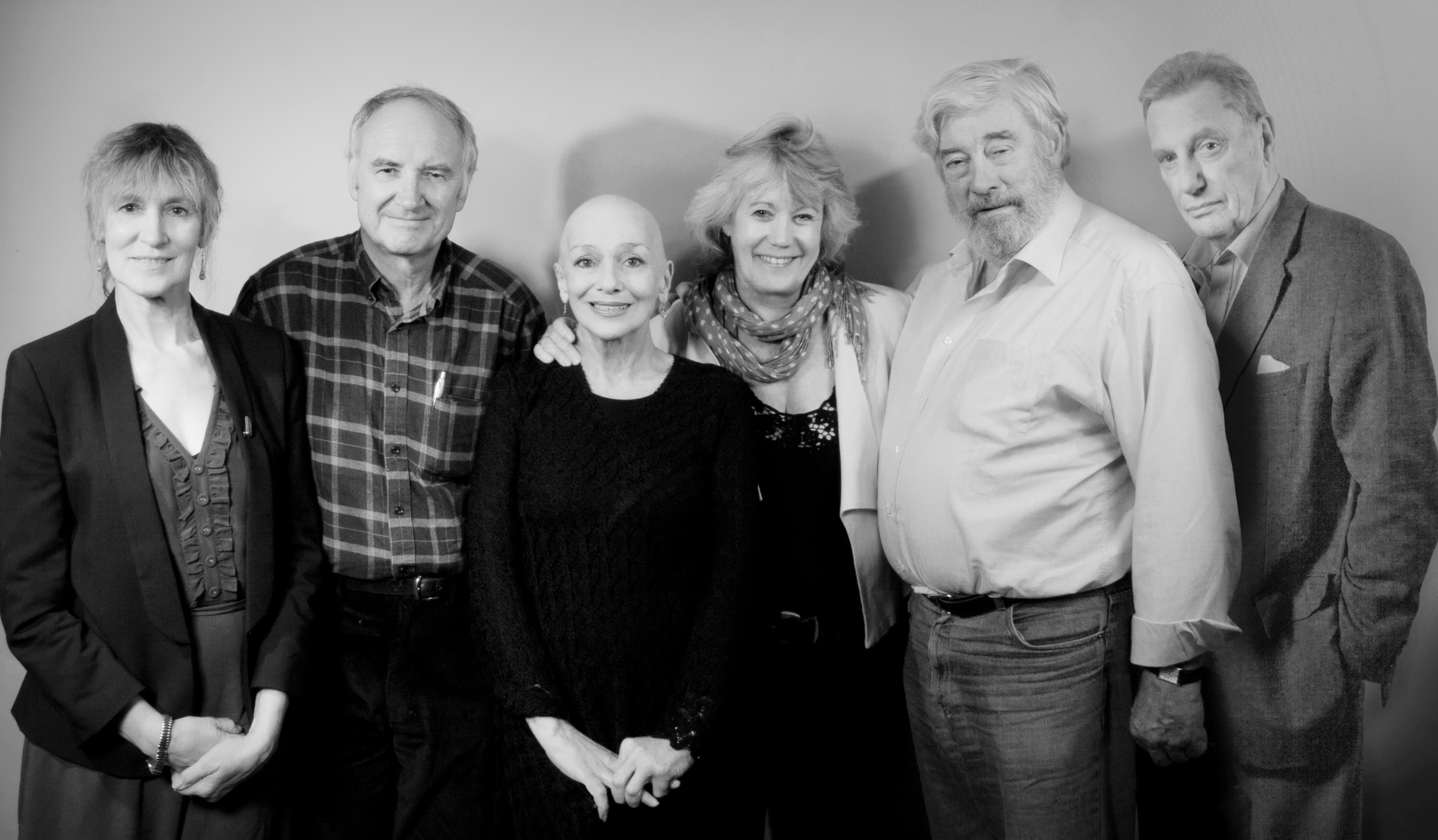 Jan Chappell, Michael Keating, Jacqueline Pearce, Sally Knyvette, Gareth Thomas, Paul Darrow.