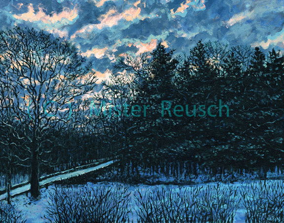 """Winter Sunrise"""