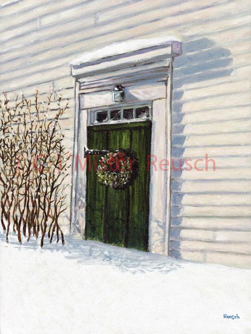 """""""Winter Door"""""""