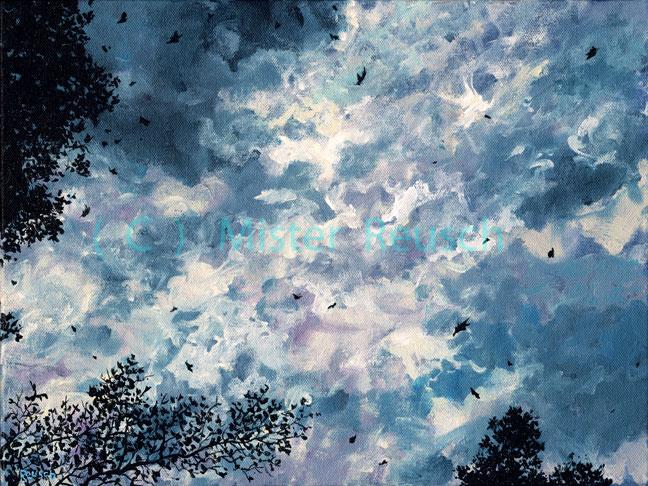 """""""Stormy Autumn Sky"""""""