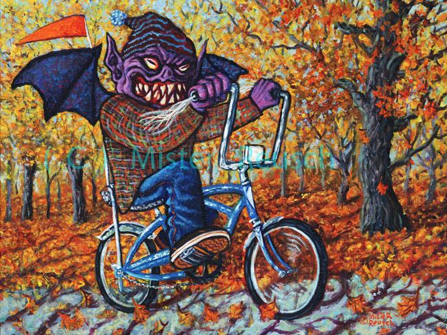 """""""Tom Torrey, the Schwinn Stingray Monster"""""""