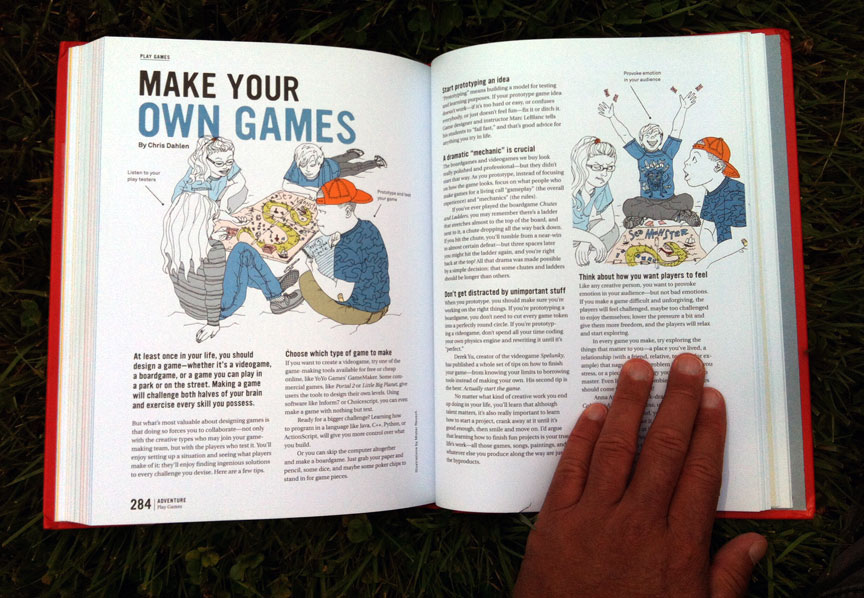 page design & color by Anthony Leone