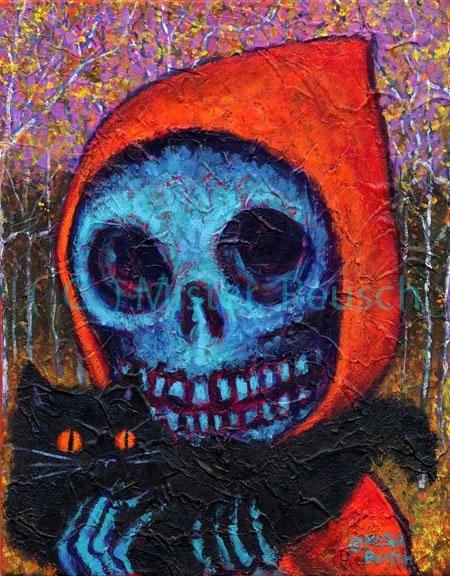 """""""Autumn Black Cat"""""""