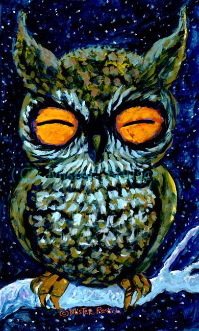"""""""Sleepy Owl"""""""