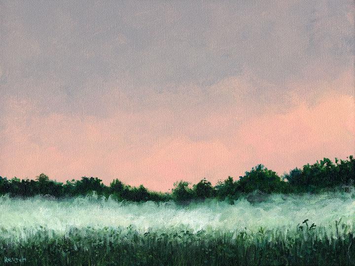 Ground Fog at Sundown