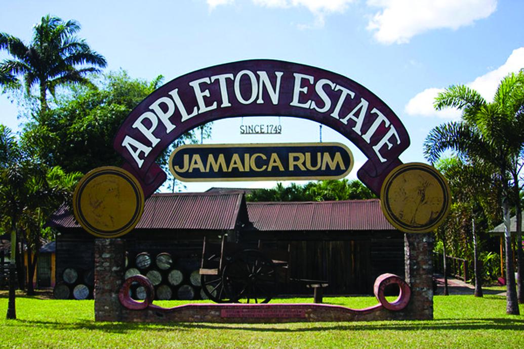 Entrance to the Appleton Estate Rum Tour