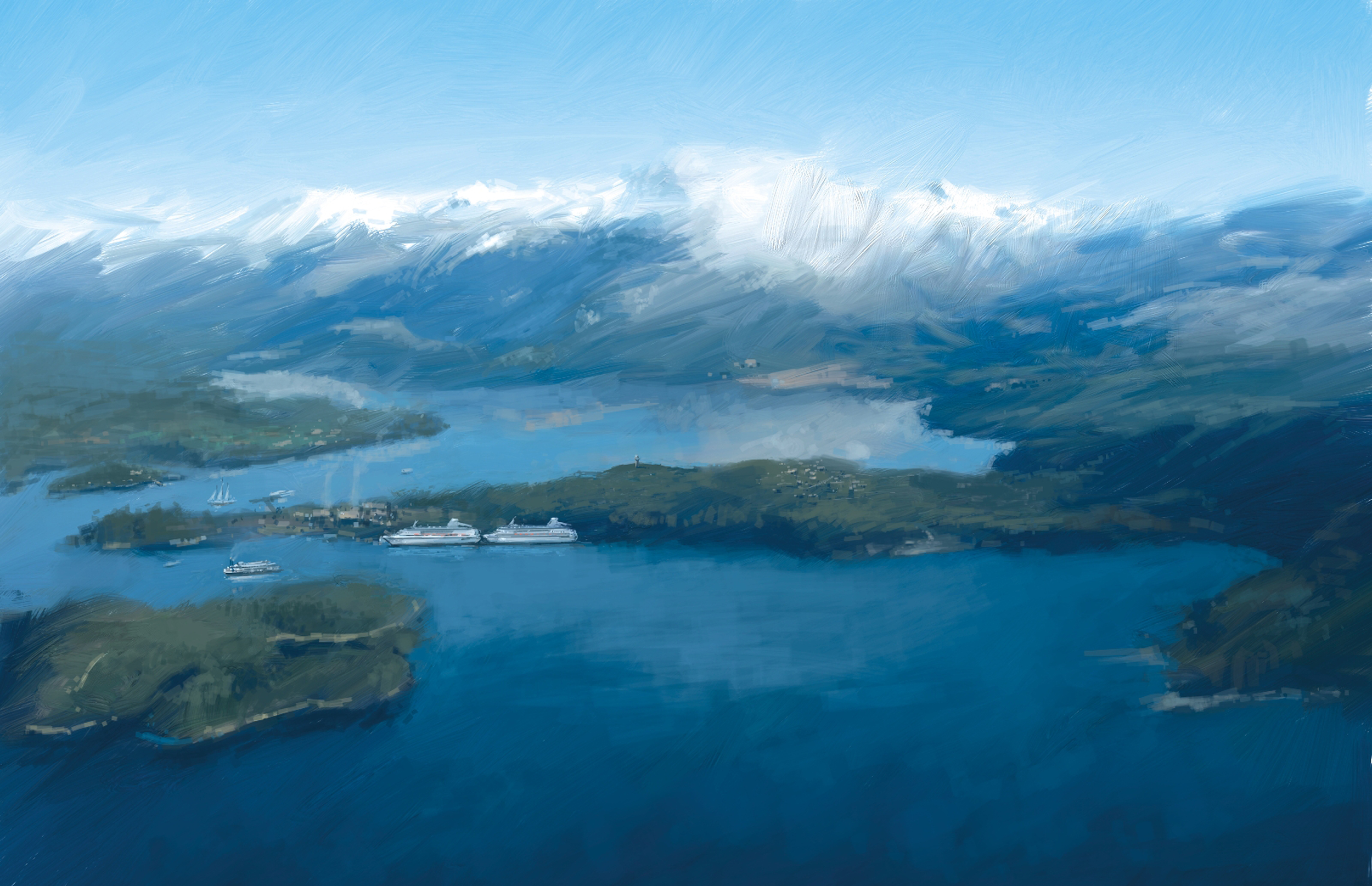 Wilderness Alaska Conceptual Rendering