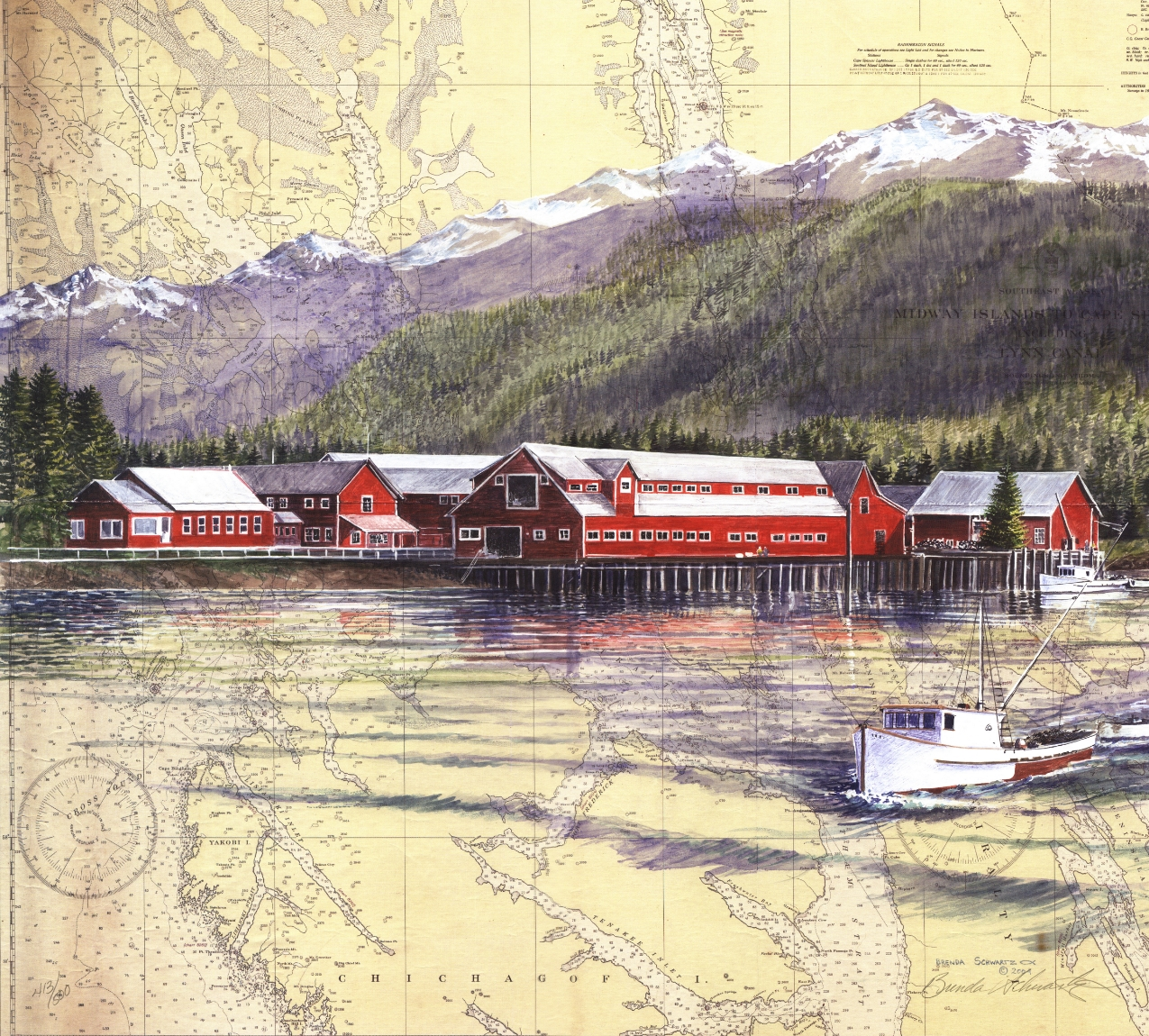 Cannery at Icy Strait Point Rendering