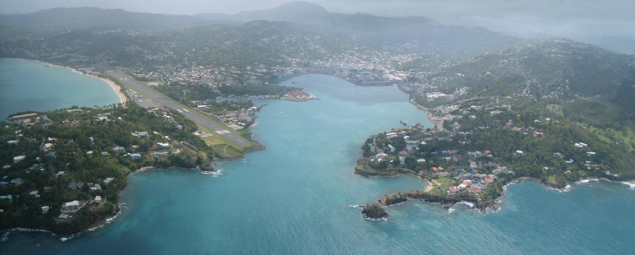 Port Castries Aerial Rendering
