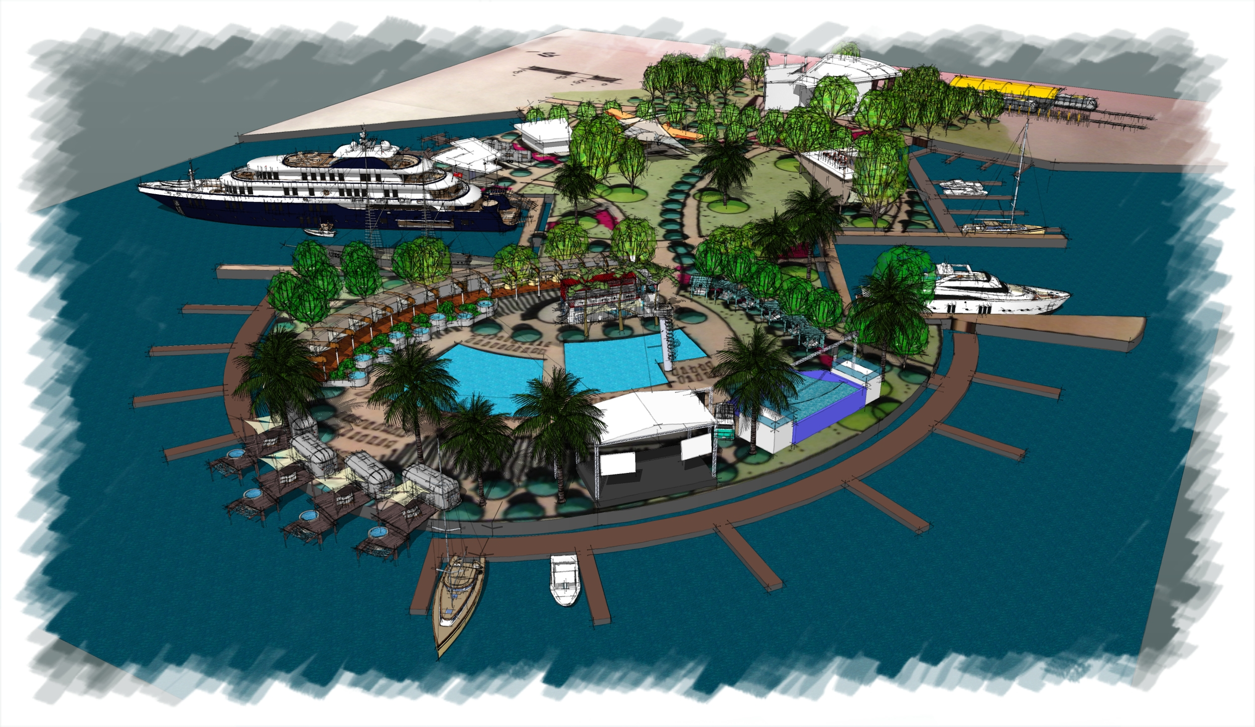 STUDIO GRANDE MARINA AND POOL CLUB