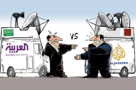 Al jazeerra vs Al arabiya