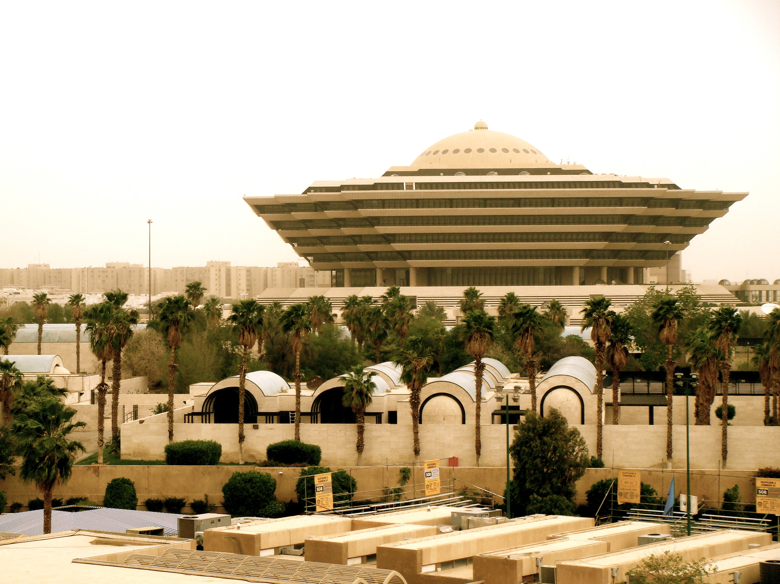 Innenriksdepartementet i Riyadh.Jon Rawlinson, Flickr Commons.