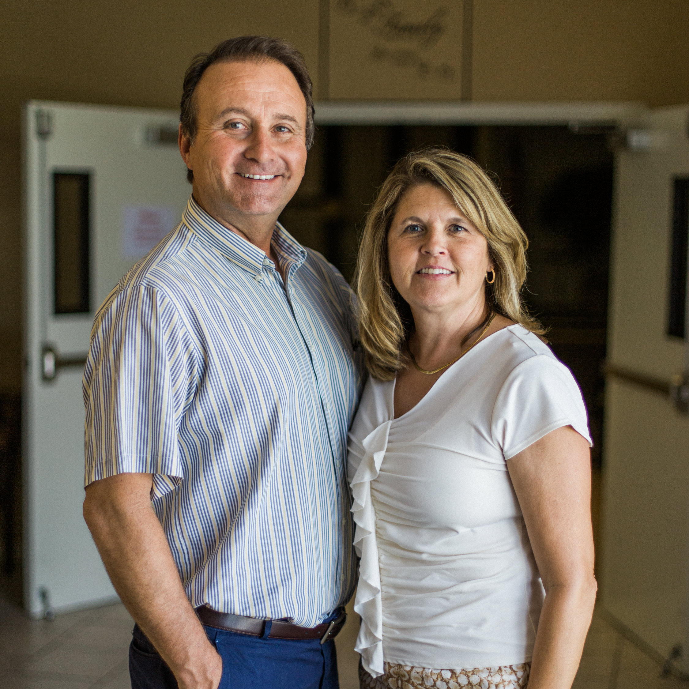 Mitchell & Mindy Livingston  Lead Pastors
