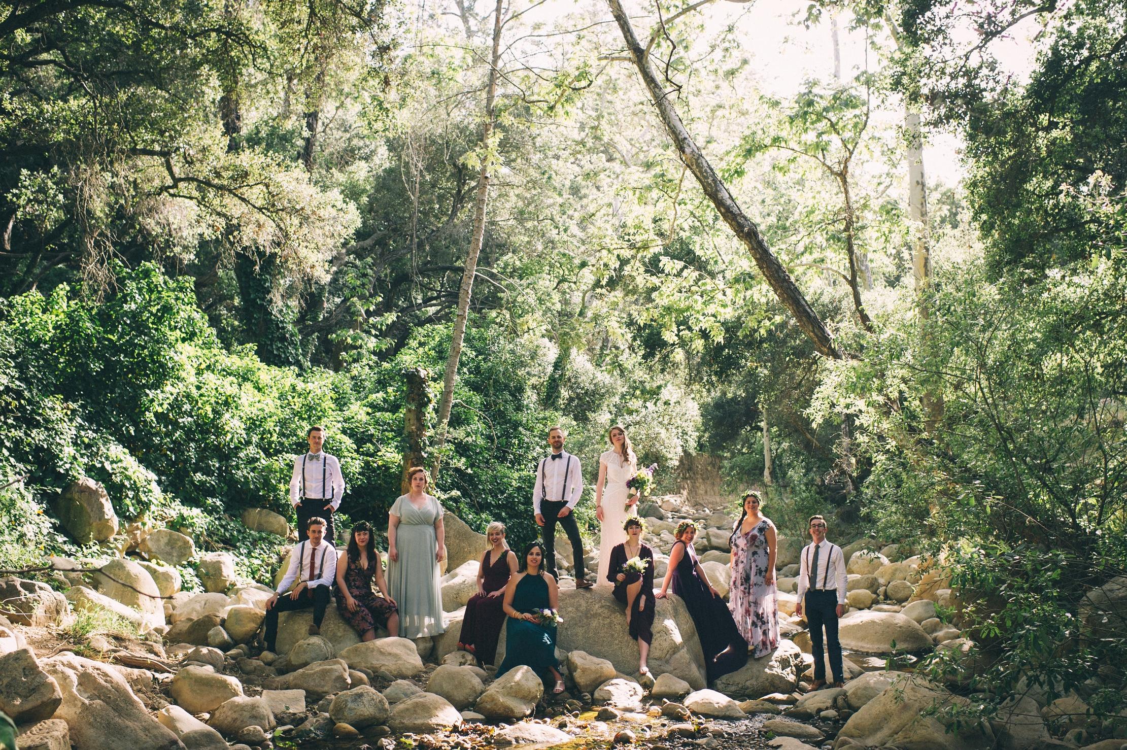 Dana + Patrick - Boho Santa Barbara Museum Wedding2017