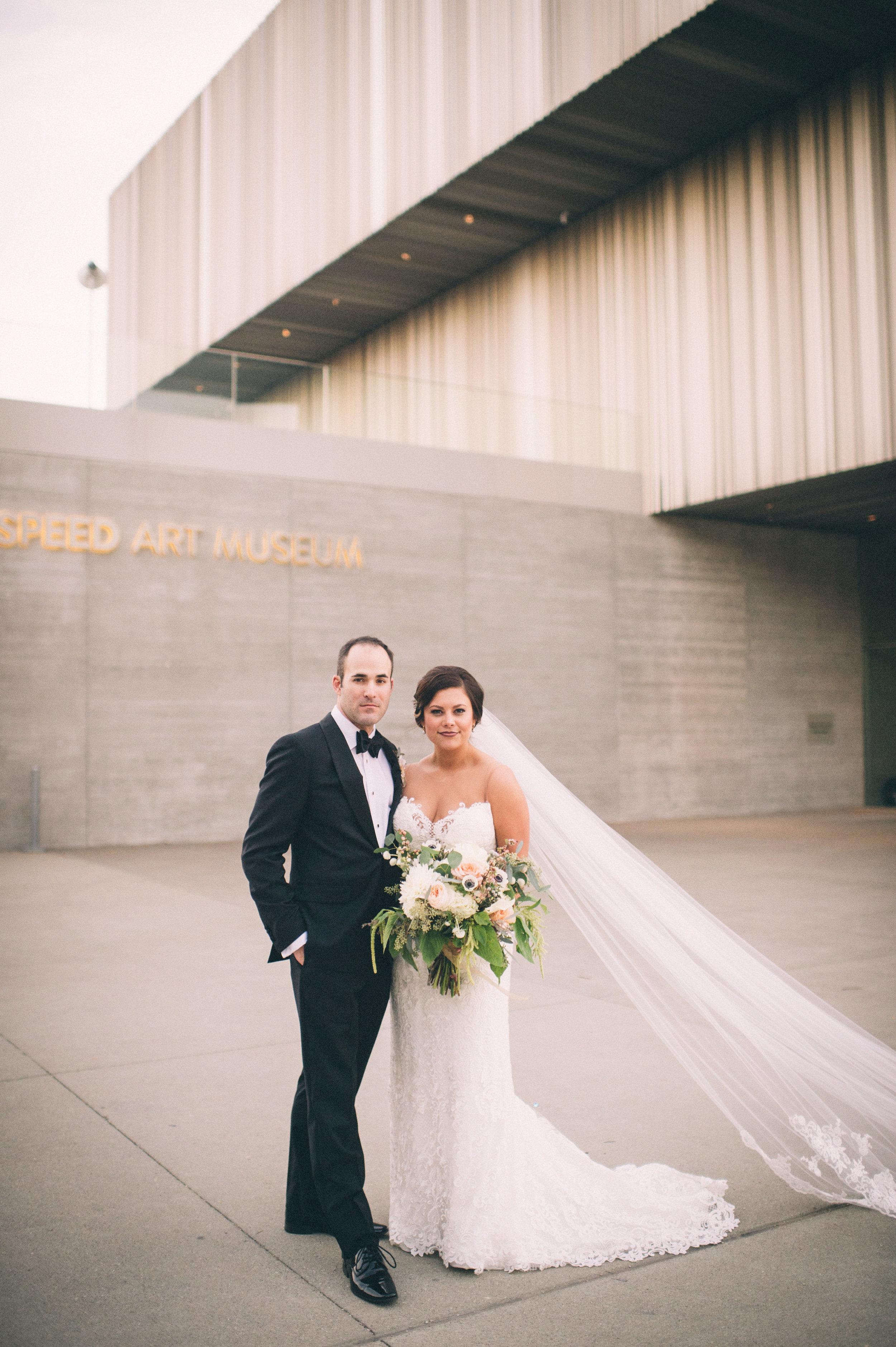 Sarah Katherine Davis Photography - Speed Art Museum Modern Wedding Photographer - Louisville Kentucky Wedding - Elopement