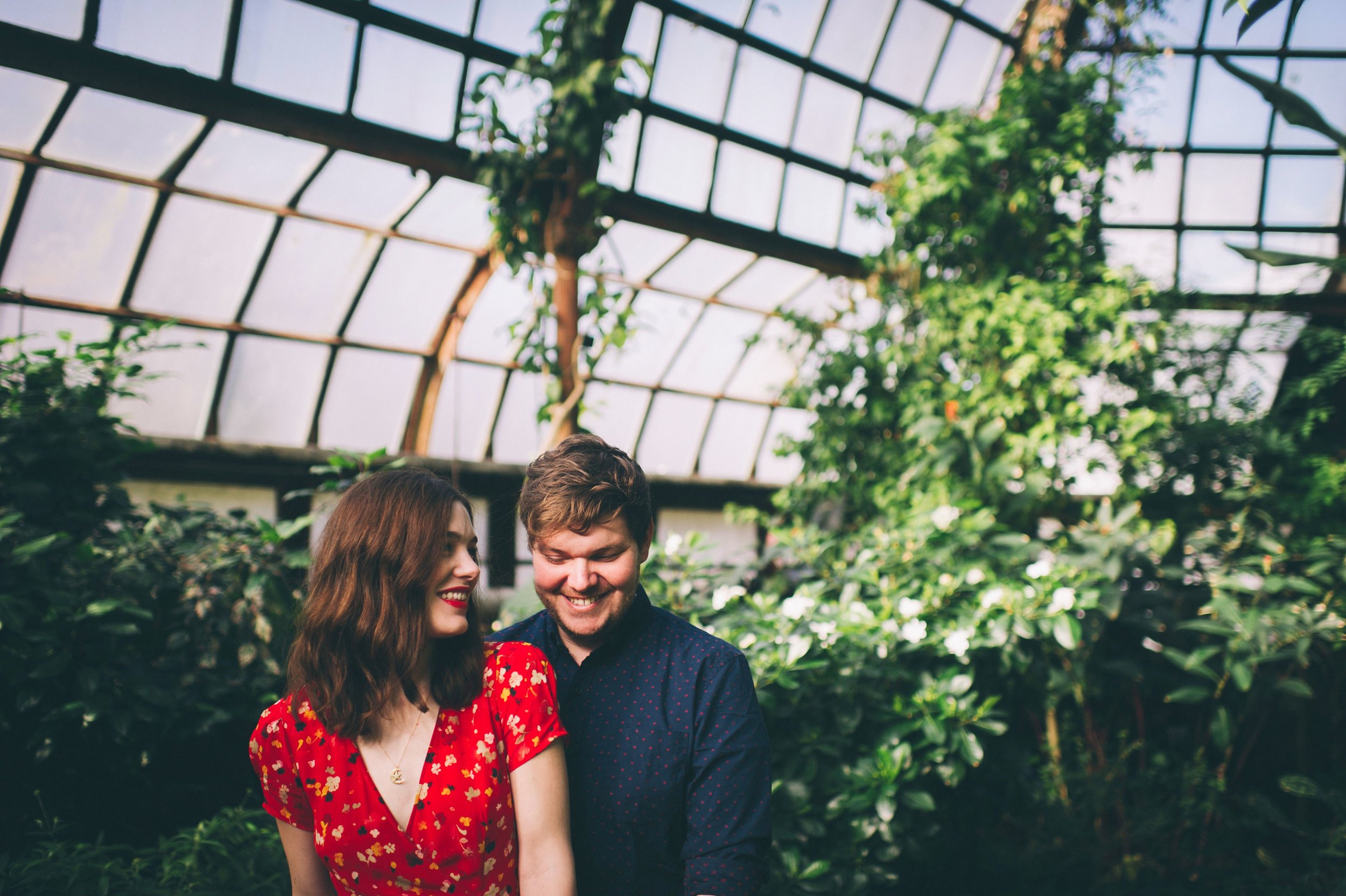 Chris & Cassie // Anniversary Couples Session // Lincoln Park Conservatory Chicago