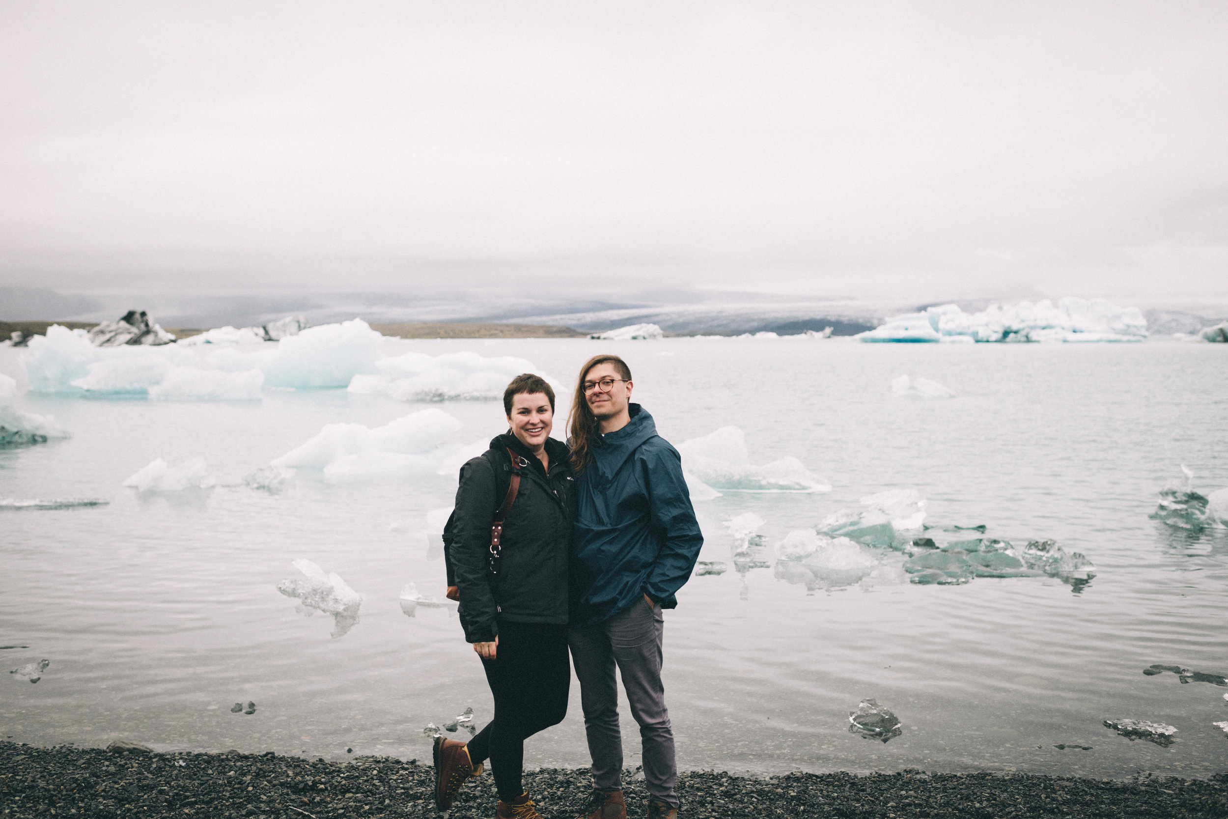 2018 // Jökulsárlón, Iceland with my spouse
