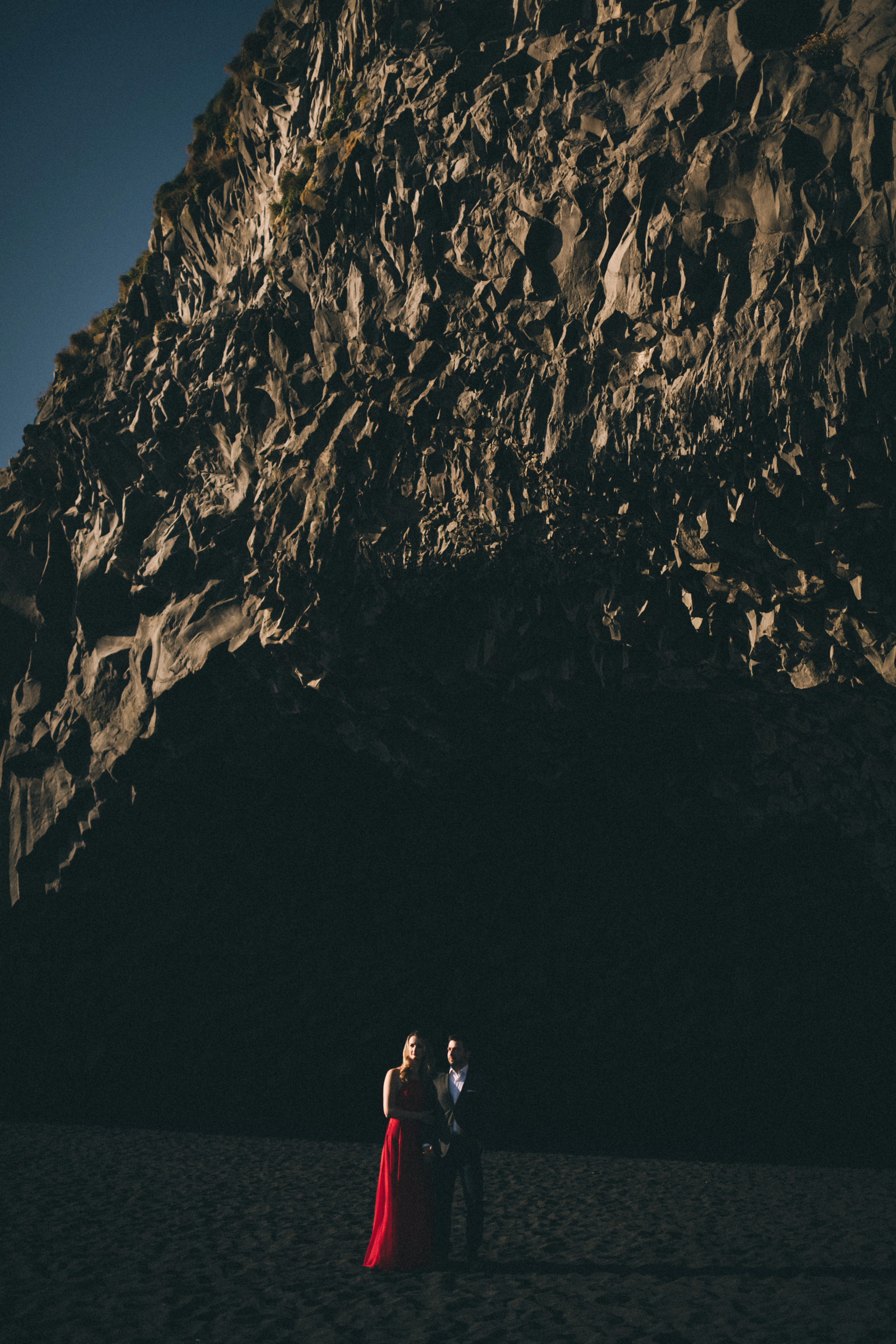 Sarah-Katherine-Davis-Photography-Iceland-Adventure-Elopement-Photographer-Louisville-Kentucky-Wedding-Photographer-Travel-Vik-Beach-Engagement-Session-Red-Dress-Reynisfjara-2edit.jpg