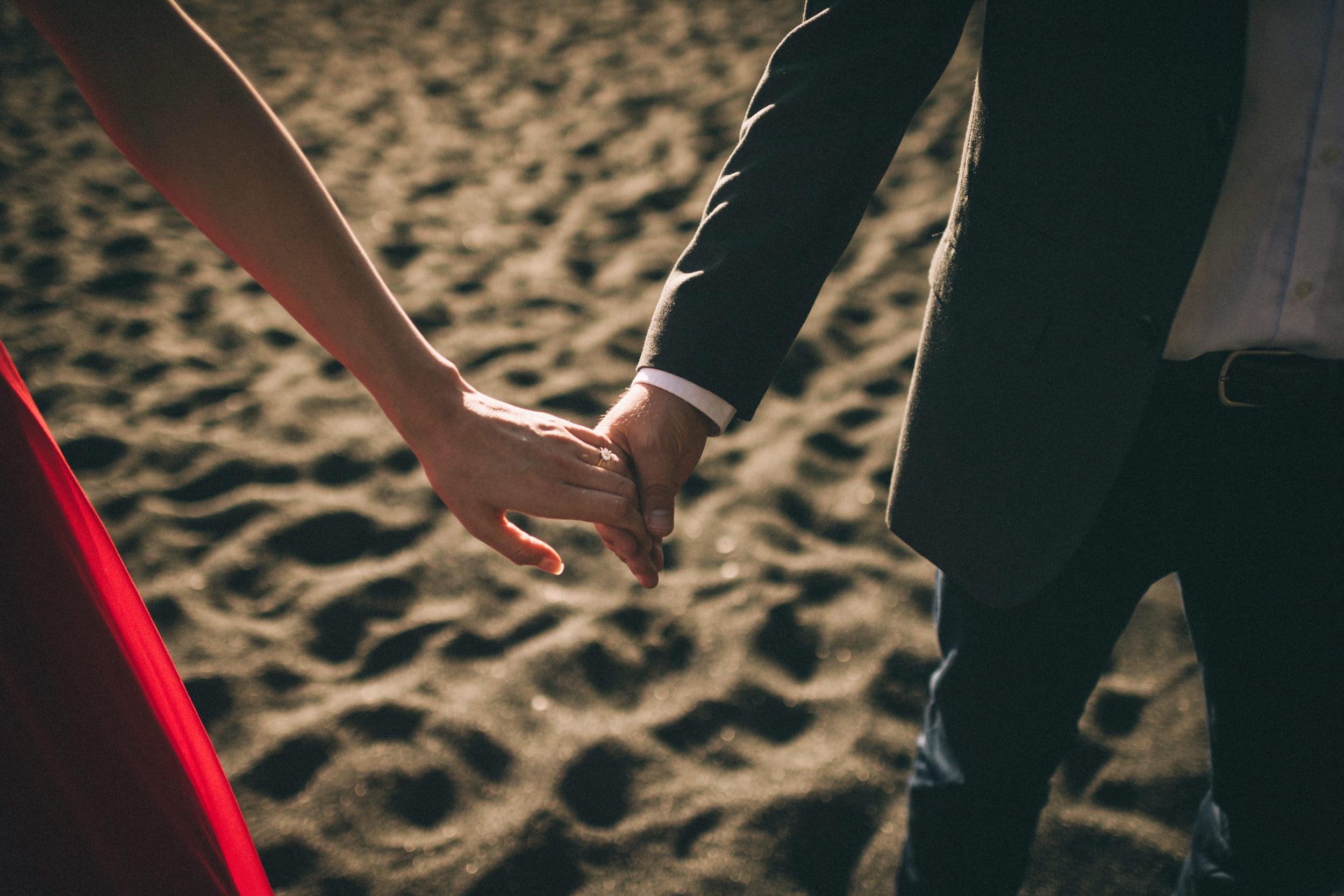 Sarah-Katherine-Davis-Photography-Iceland-Adventure-Elopement-Photographer-Louisville-Kentucky-Wedding-Photographer-Travel-Vik-Beach-Engagement-Session-Red-Dress-Reynisfjara-39edit.jpg