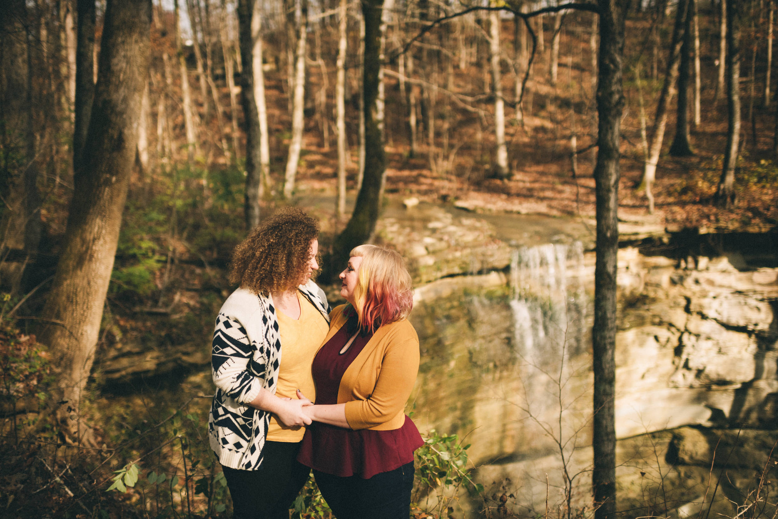 Rebekah + Andrea - Waterfall Adventure Session // 2018