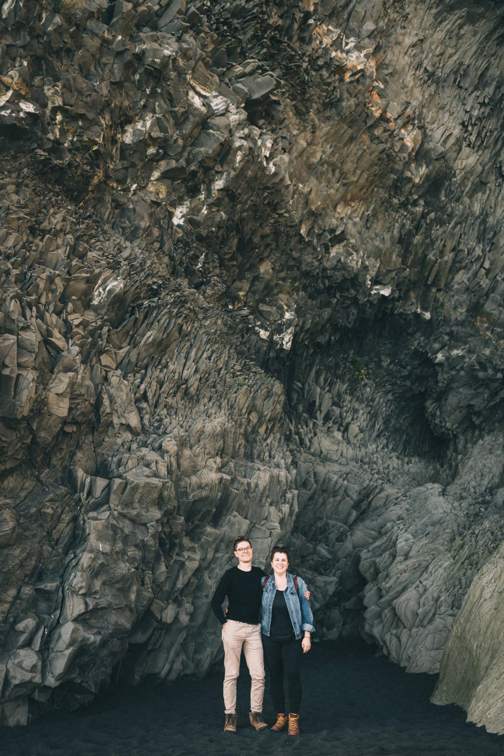 Sarah-Katherine-Davis-Photography-Iceland-Adventure-Elopement-Photographer-Louisville-Kentucky-Wedding-Photographer-Travel-Vik-Beach-Engagement-Session-Red-Dress-Reynisfjara-142edit.jpg