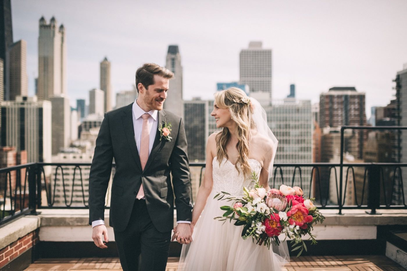Lucy + Daniel - Industrial & Modern Chicago Wedding2019