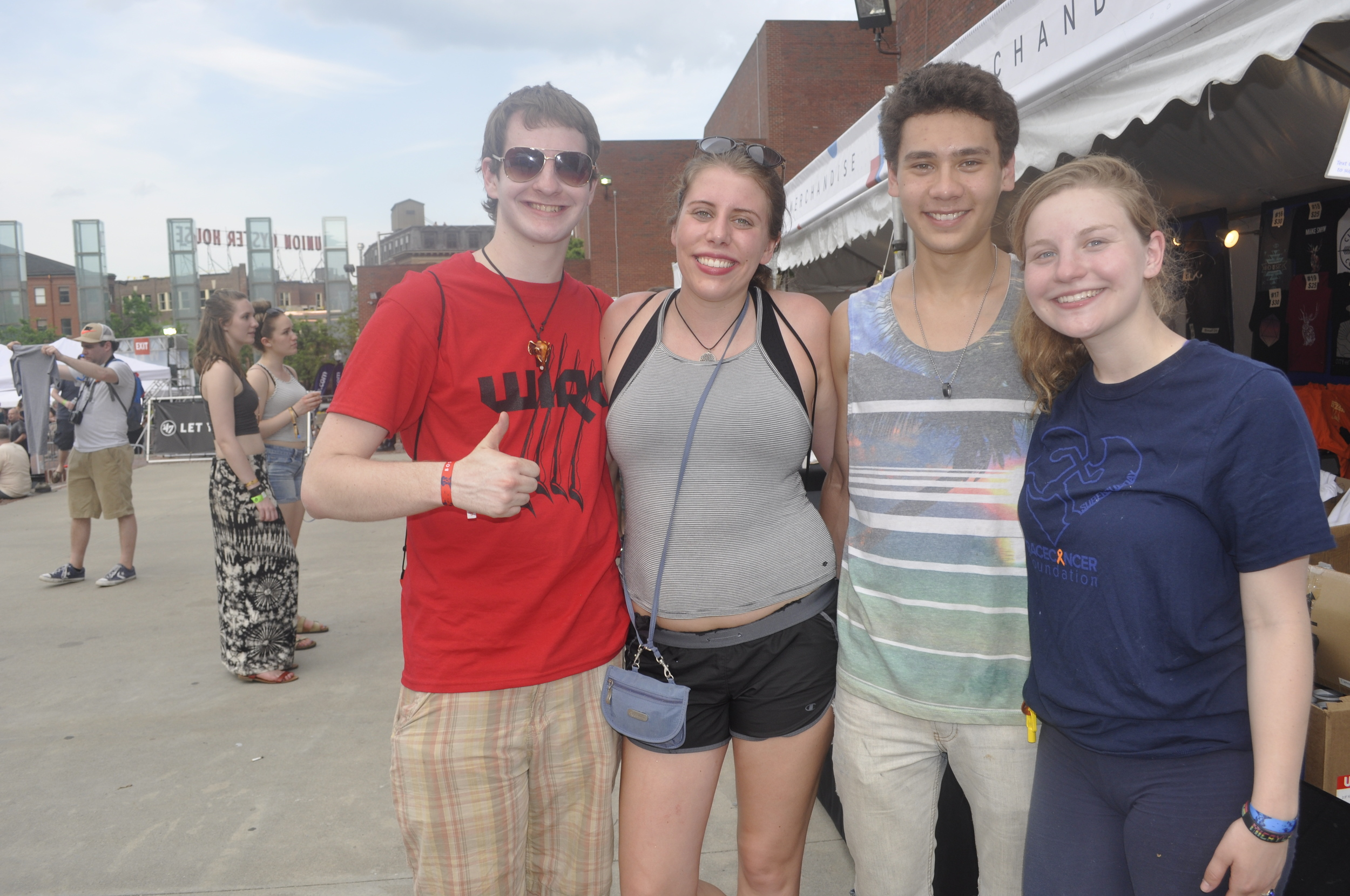 From left to right: Me, Mariah Cronin, Matt Chan, Micayla Riven