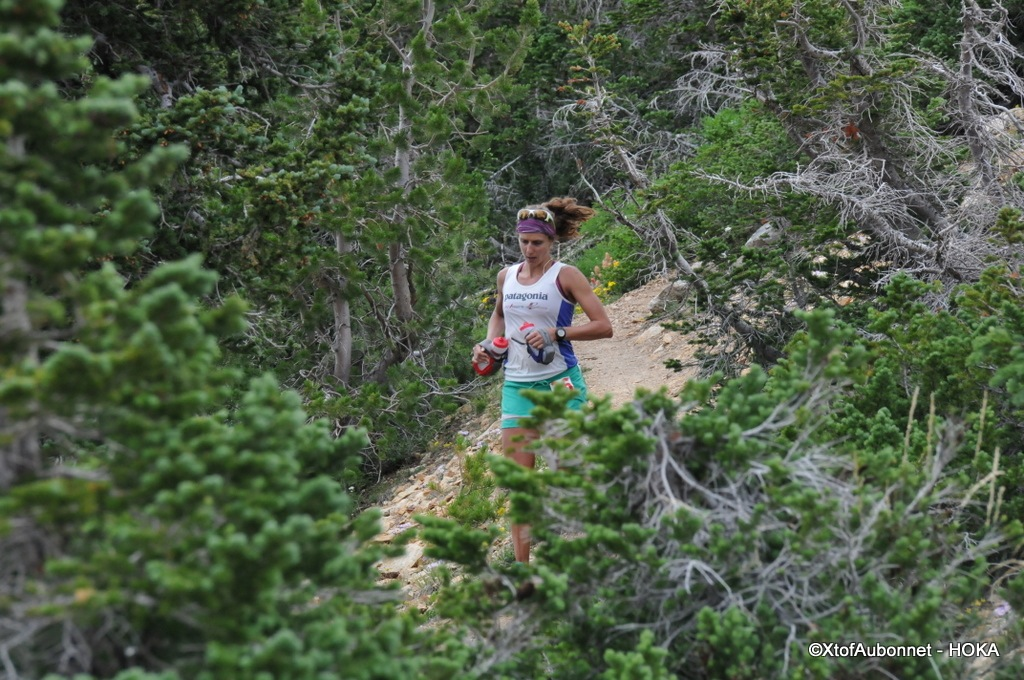 having a blast at Speedgoat 50k