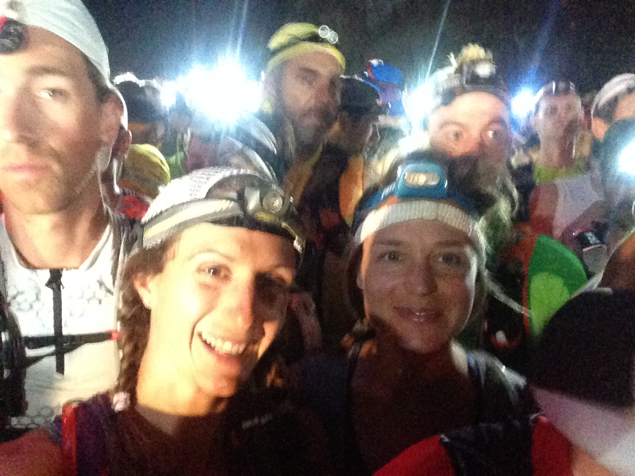 2000+ runners lined up for the 2014 Transvulcania