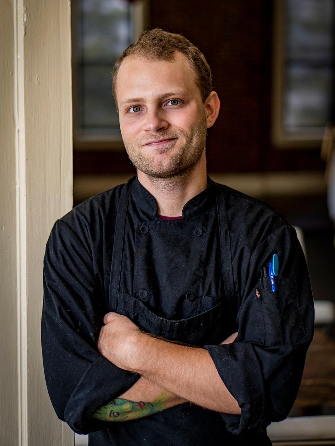 Alex Oehmen  Anju Above Sous Chef  alex@epiphanyfarms.com