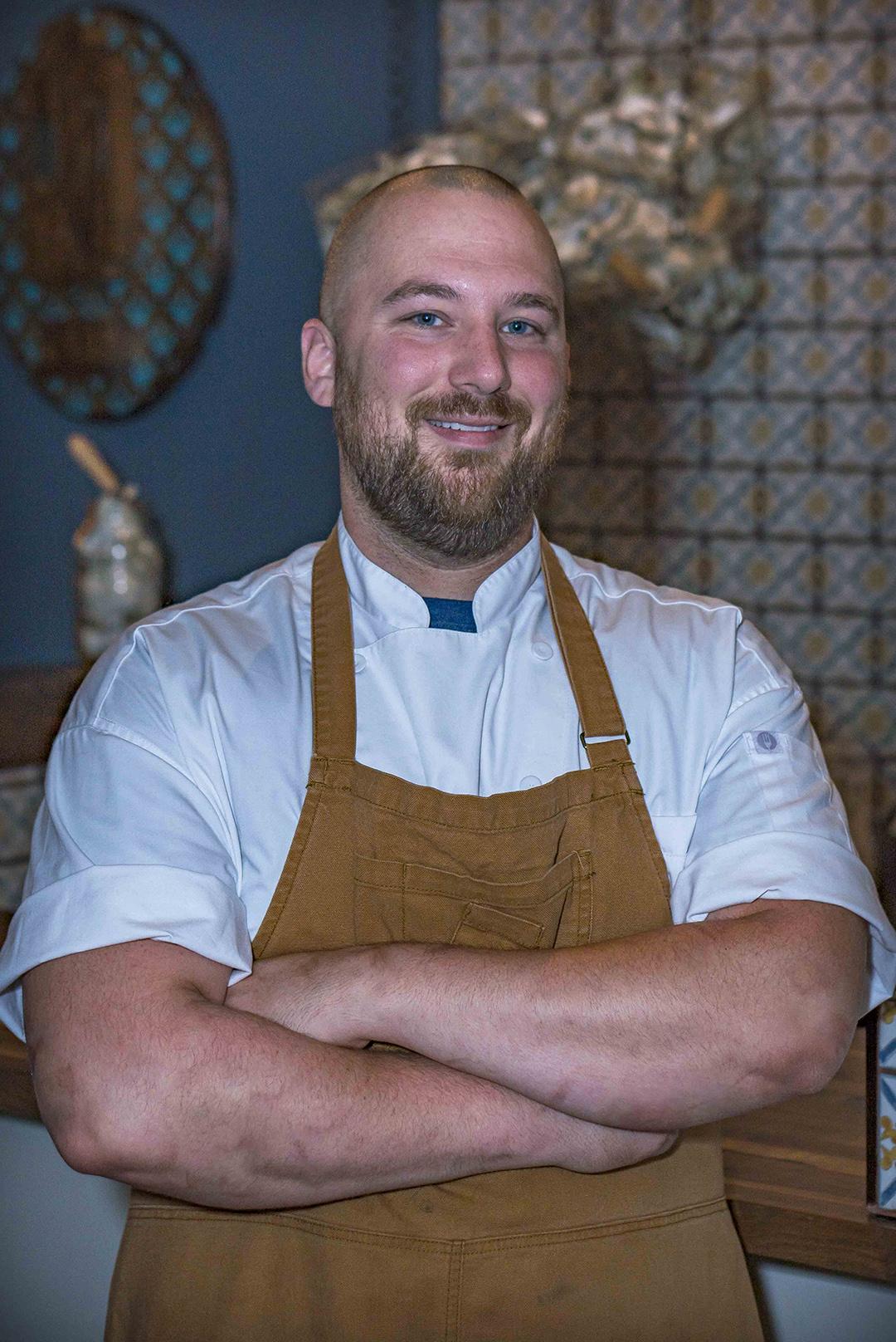 Blake Biggs  Chef de Cuisine of Bakery and Pickle  blake@epiphanyfarms.com