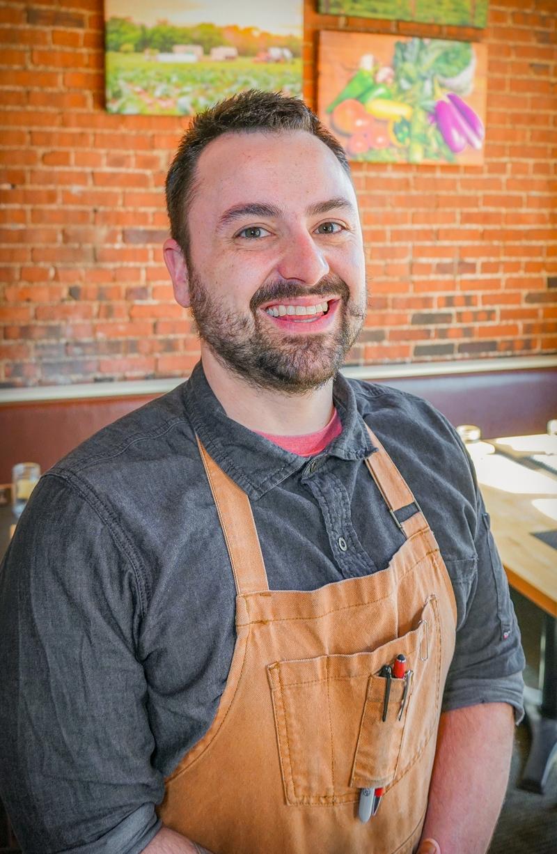 Zack Poleto  Sous Chef of Epiphany Farms  zack@epiphanyfarms.com