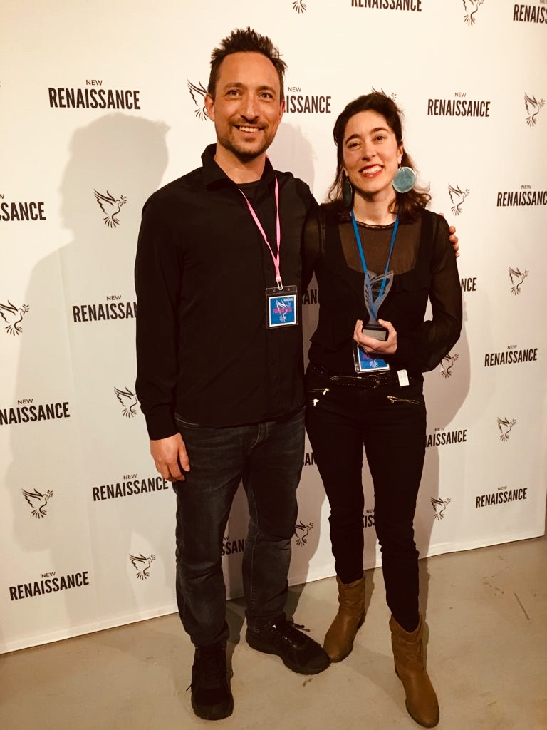 The Remembered wins Best Experimental Film at New Renaissance Film Festival Amsterdam 2019. - Inspired by the history of the persecution of witches Directed, filmed and edited by Roxana Vilk with music by Roxana and Peter Vilk as Wolf Collective. Trailer here