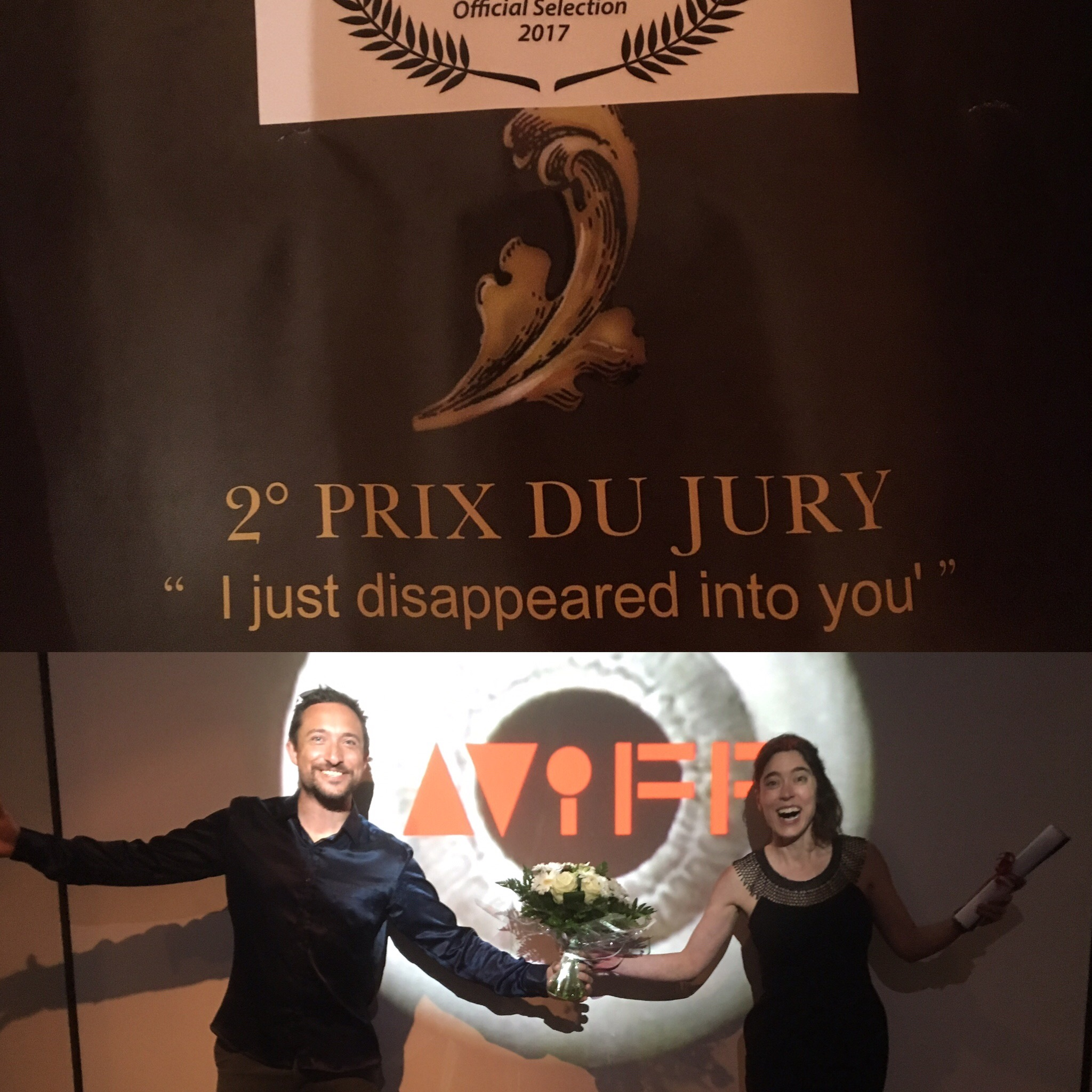 'I just disappeared' wins 2nd Jury Prize at Cannes Art/Film Festival 2017 - Directed by Roxana Vilk and Music Production by Peter VilkTrailer of I just disappeared here