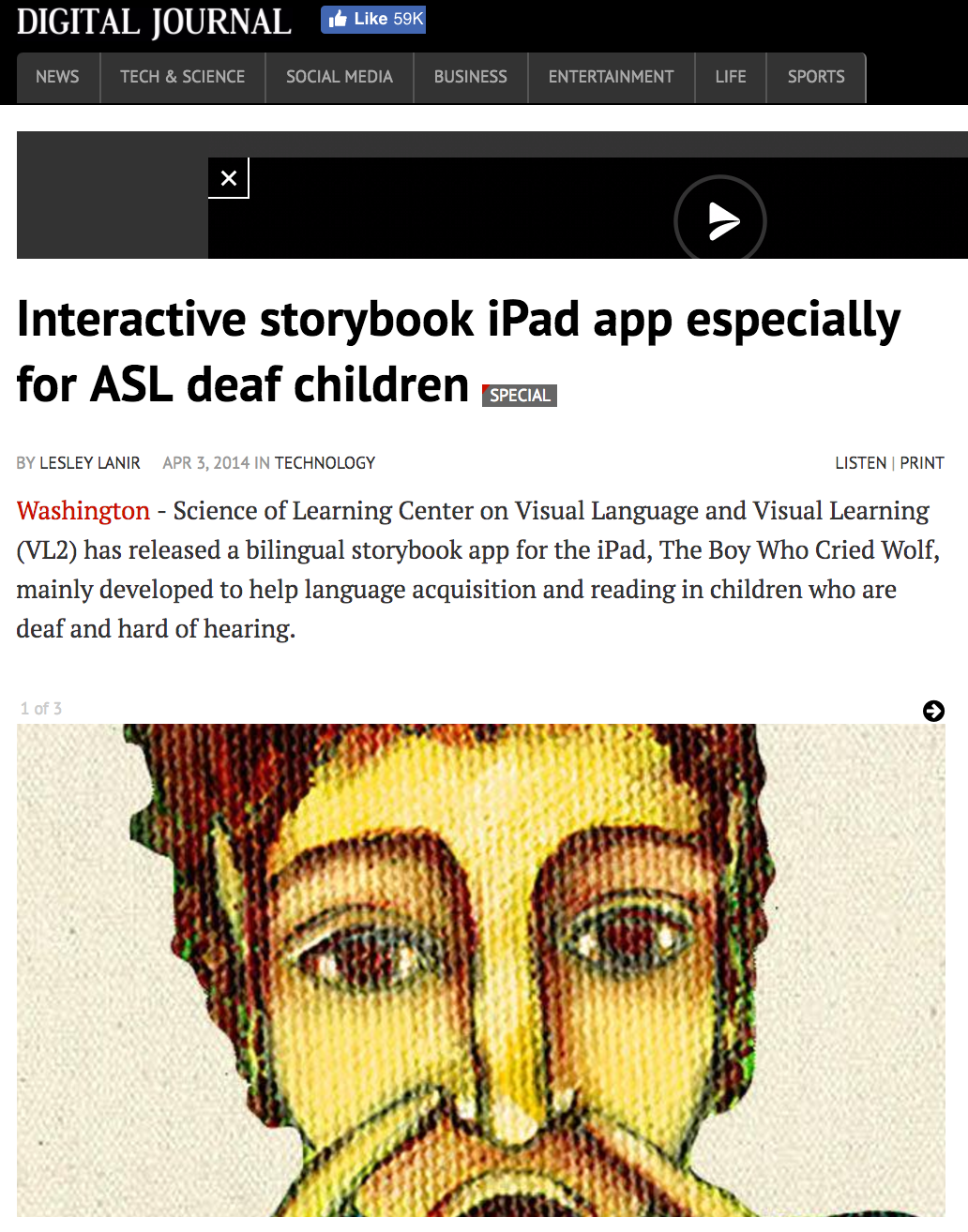 Press & Reviews — VL2 Storybook Apps