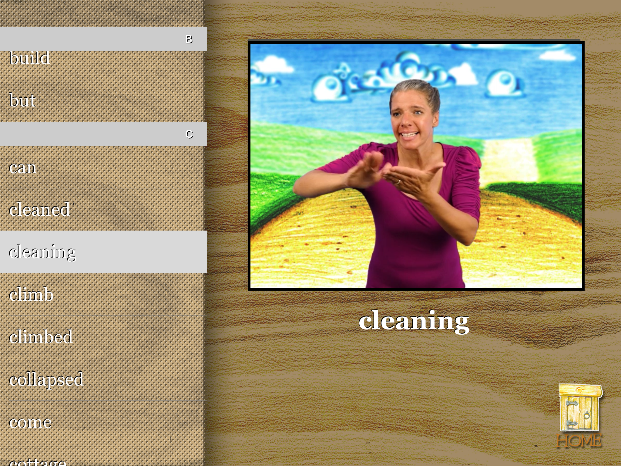 """Teremok Glossary """"Cleaning"""", 2048 x 1536, 6.6 MB, Use for Retina Display"""