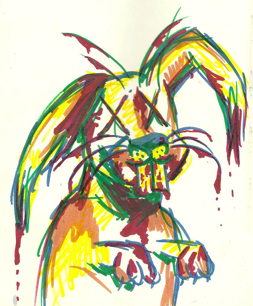 May 10, 2013's Daily Zombie Bunny