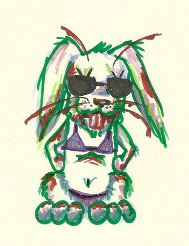 Summah Zombie Bunny