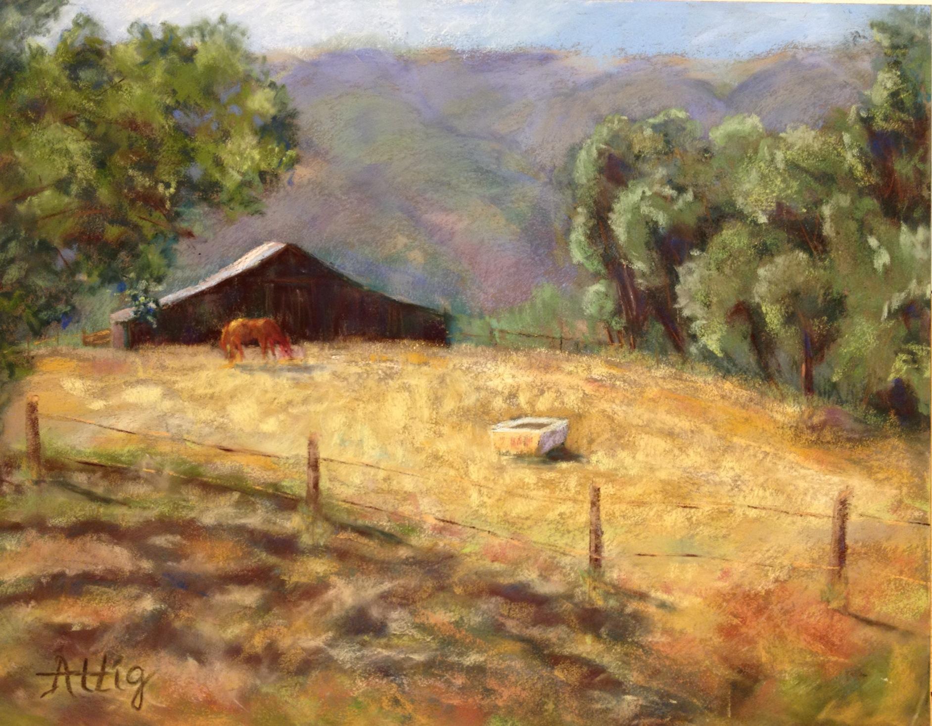 """Pasture Dreams"" 11"" x 14"" $605"