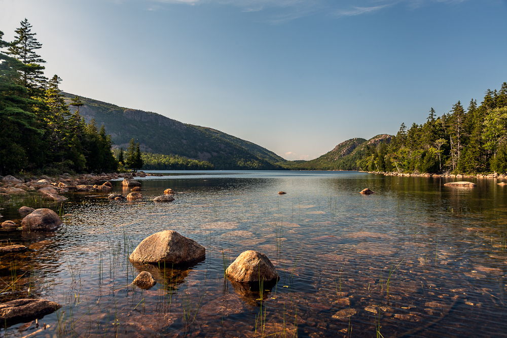 Jordan Pond:  Probably one of the most-photographed spots in Acadia. And for good reason.