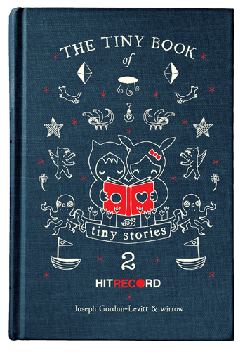 I'm thrilled to have my work included in this delightful collection.  If you haven't explored HitREcord, do it now!
