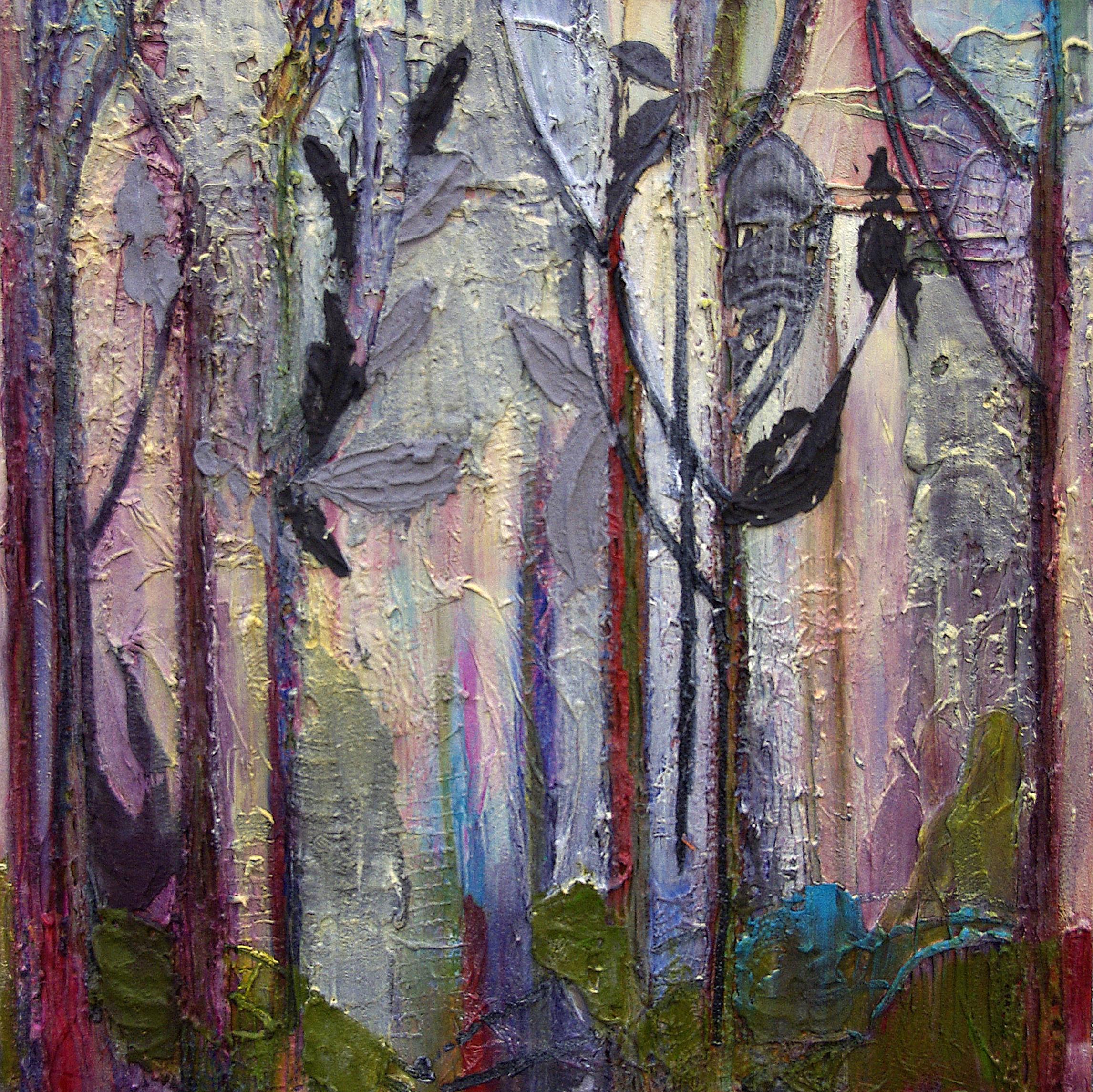 Woodland triptych 3