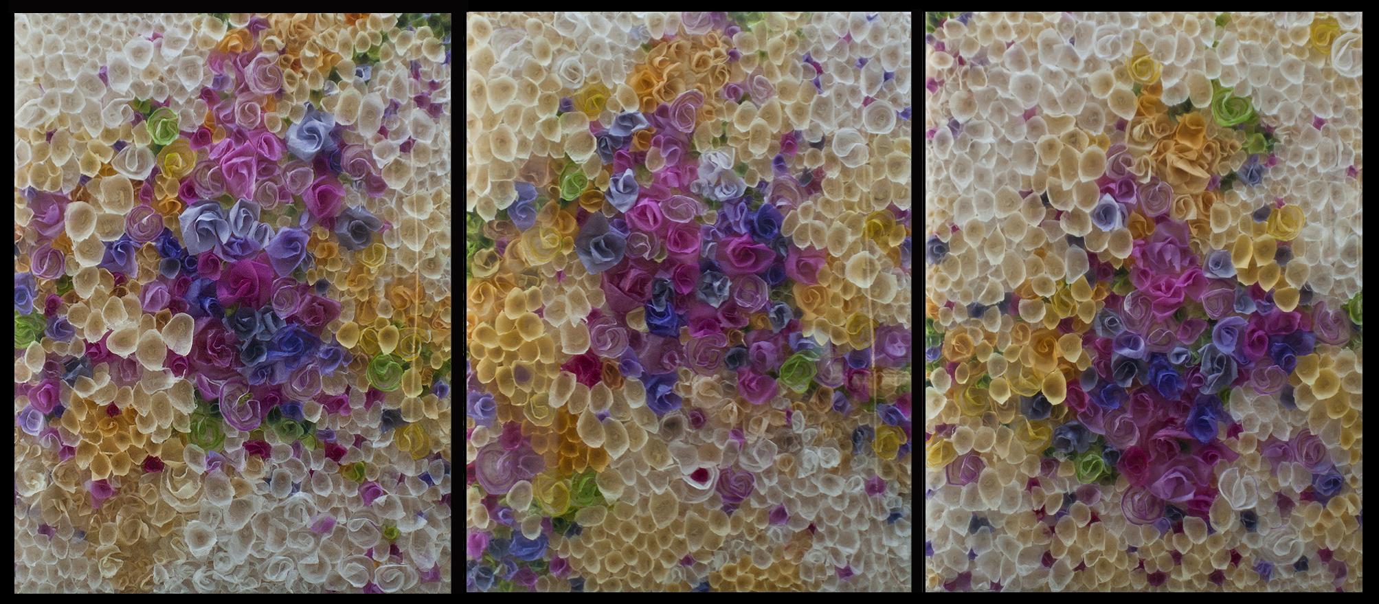 Sunburst 1, 2 & 3 triptych