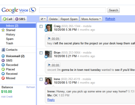 Google Voice on the Web.png