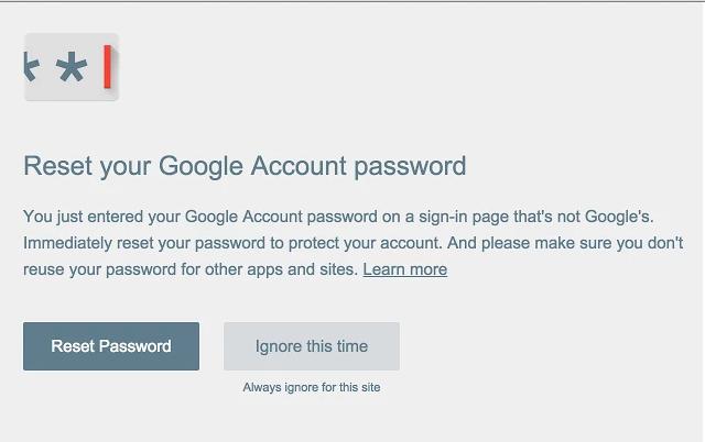 google-password-alert-extension