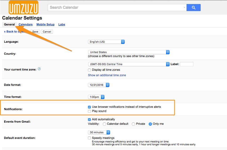 umzuzu_google_calendar_settings